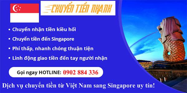 Chuyển tiền sang singapore
