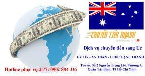 Chuyển tiền sang Úc