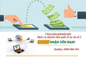 Chuyển tiền từ Việt Nam sang singapore