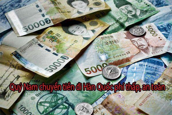 Chuyển tiền từ Việt Nam sang Hàn Quốc