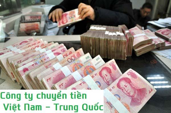 Chuyển tiền Việt Nam sang Trung Quốc