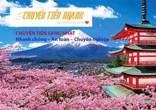Dịch vụ chuyển tiền sang Nhật