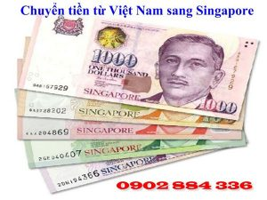 Dịch vụ chuyển tiền từ Việt Nam sang Singapore