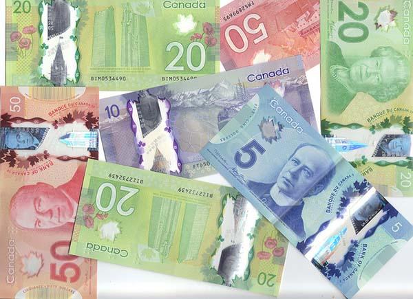 Nhận chuyển tiền sang Canada