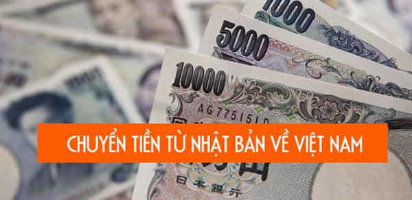 Chuyển tiền từ Việt về Việt Nam