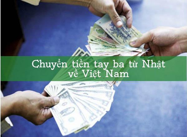 Dịch vụ chuyển tiền từ Nhật về Việt Nam