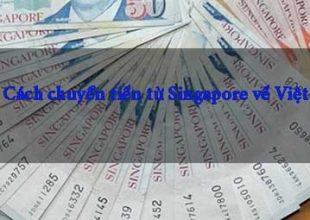 Thumbnail for the post titled: Cách chuyển tiền từ Singapore về Việt Nam tiết kiệm nhanh chóng