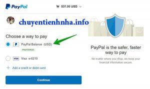 Chuyển tiền từ Đức về Việt Nam qua Paypal