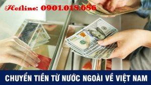 Chuyển tiền nước ngoài về việt nam uy tín