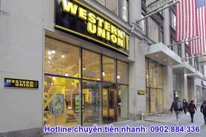 Western Union là dịch vụ chuyển tiền uy tín đầu tiên trên thế giới