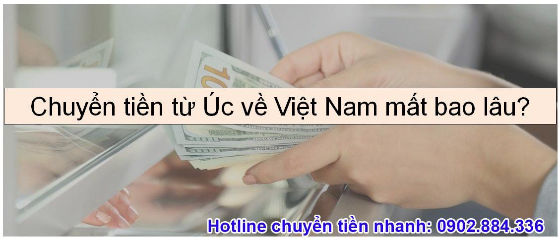 Chỉ 15 - 30 phút là chuyển được tiền từ Úc về Việt Nam