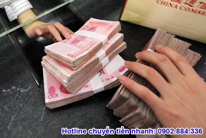 Nhu cầu chuyển tiền từ Trung Quốc về Việt Nam tăng cao