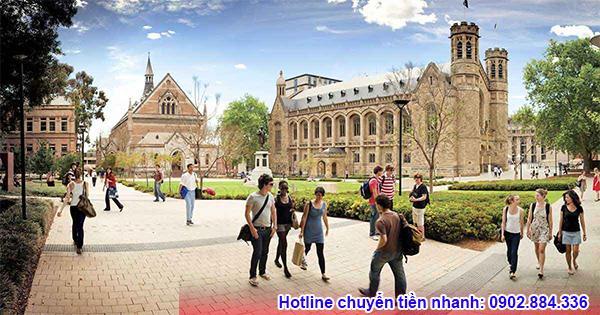 Được các trường tại Úc nhận hồ sơ là điều kiện đầu tiên để du học Úc