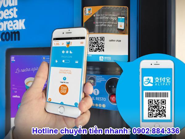 Alipay là ví điện tử sử dụng để thanh toán khi mua hàng online trang thương mại Trung Quốc