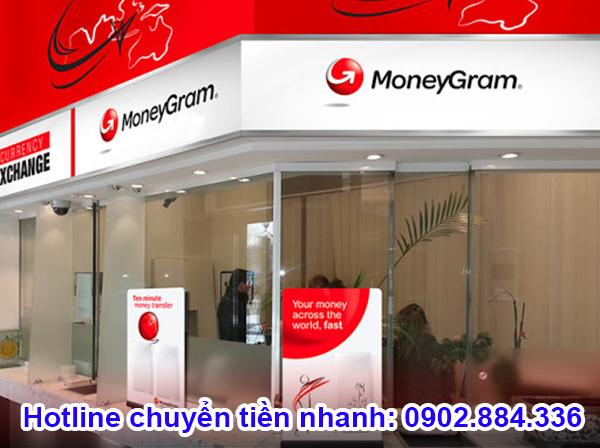 MoneyGram là dịch vụ chuyển tiền quốc tế với hơn 300.000 đại lý