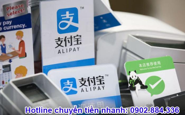 Sử dụng dịch vụ hỗ trợ nạp tiền Alipay từ đơn vị thứ ba như Chuyentiennhanh.info