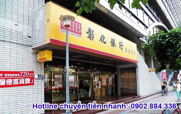 Chang Hwa Bank là ngân hàng uy tín của Đài Loan bạn có thể lựa chọn để chuyển tiền