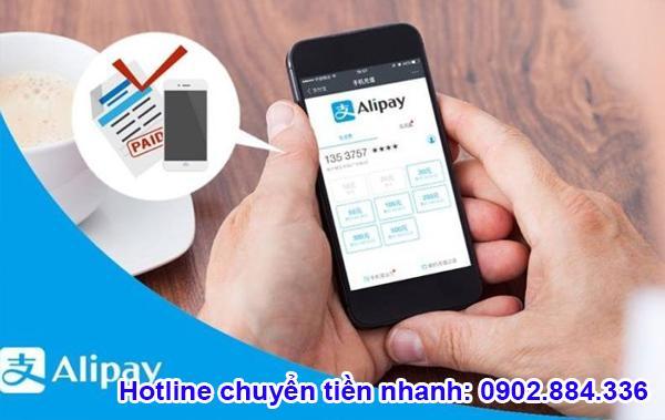 Bạn có thể nạp tiền Alipay bằng cách mua Nhân dân tệ và yêu cầu gửi vào tài khoản
