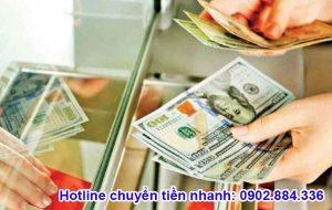 Quý Nam hỗ trợ gửi tiền đi nhiều quốc gia như Mỹ, Úc, Canada...