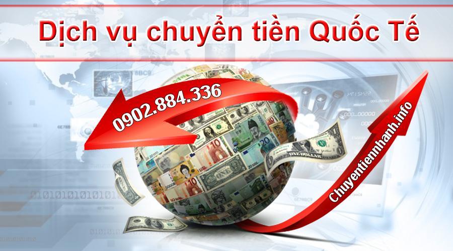 Chuyentiennhanh.info chuyển tiền ra nước ngoài cước phí rẻ