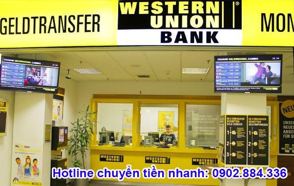 Giải đáp một số thắc mắc về hình thức gửi tiền Western Union