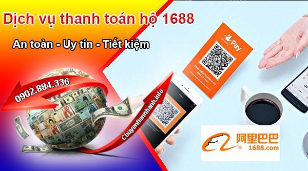 Thanh toán hộ trên 1688