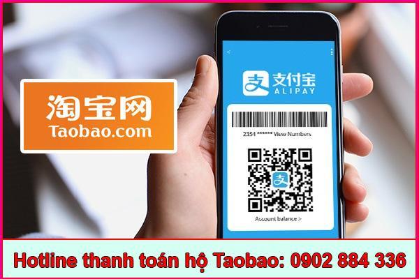 Dịch vụ thanh toán hộ Taobao uy tín
