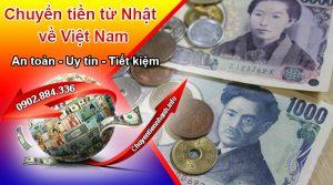 Chuyển tiền qua dịch vụ của Chuyentiennhanh.info