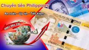 Có thể chuyển tiền từ Philippines về Việt Nam qua ngân hàng hoặc các dịch vụ chuyển tiền quốc tế