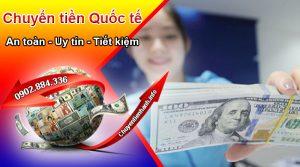 Phí chuyển tiền quốc tế ưu đãi tại Chuyentiennhanh.info