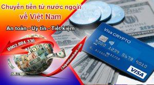 Thực hiện chuyển tiền qua thẻ ATM